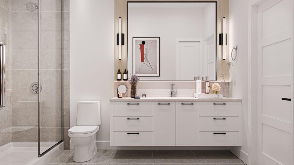 Triple Crown Condominium Bathroom