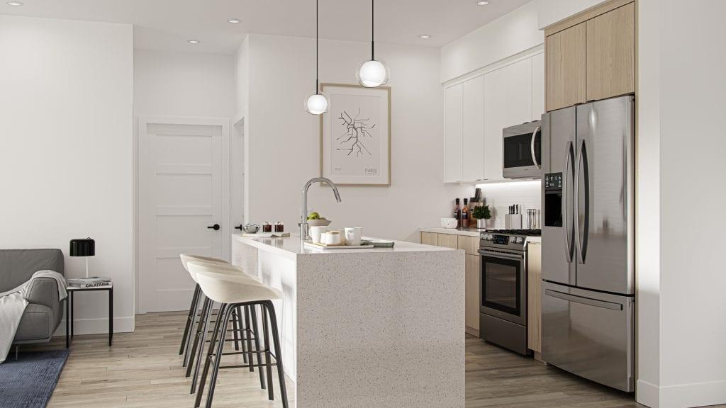 Triple Crown Condominium Kitchen
