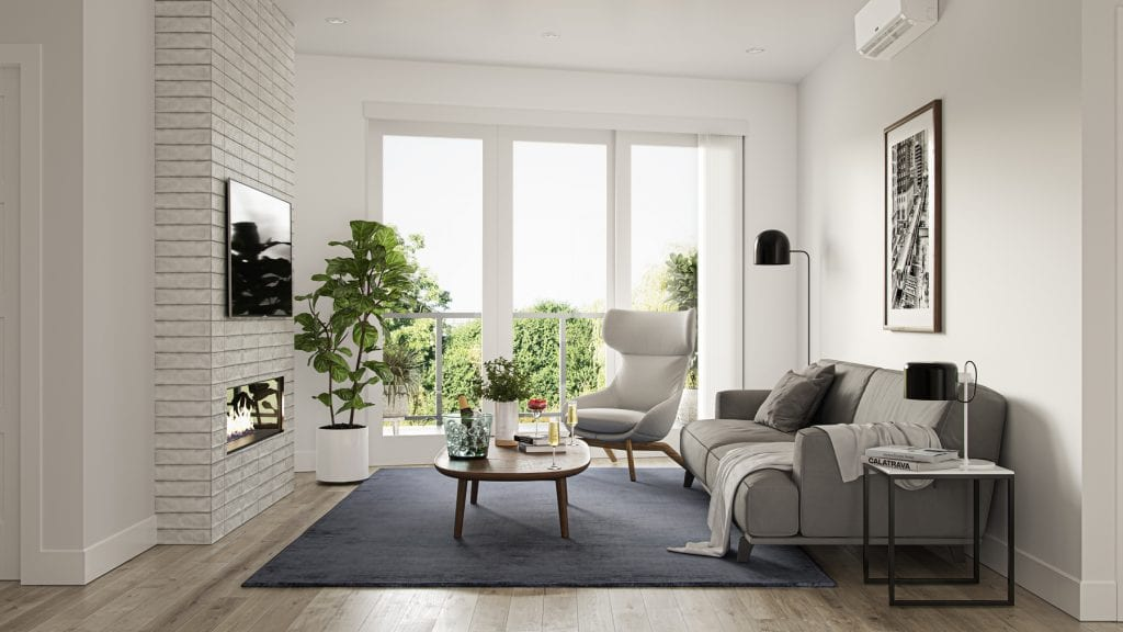 Triple Crown Condominium Living Room