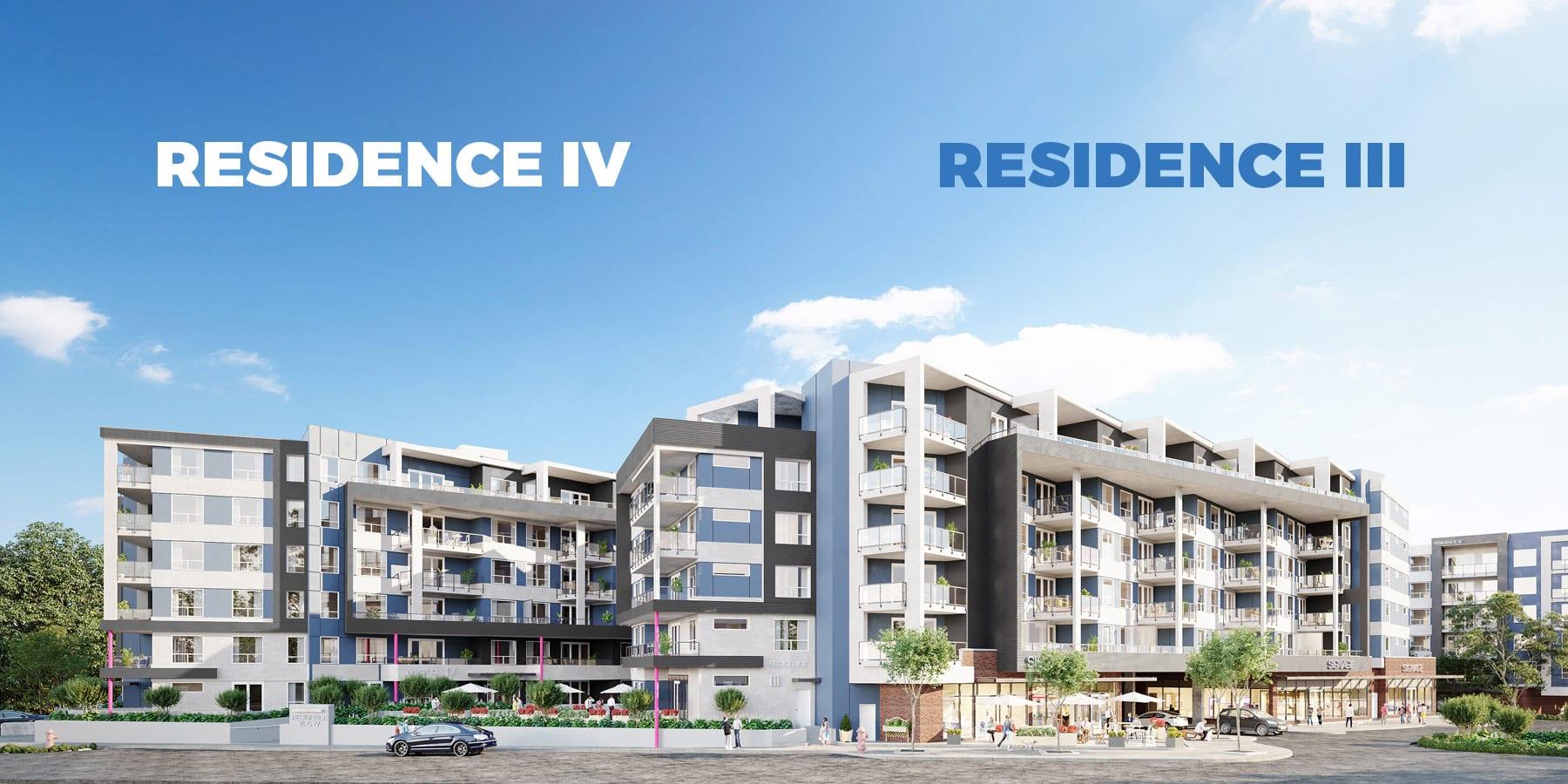 Residence IV and Residence III